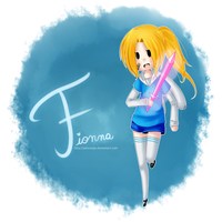 Fionna the Human by PkOrange