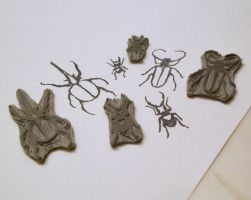 beetle stamps by rachguerrero
