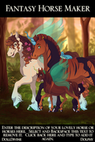 Horse- Tamara, Rucro and Tuan by aprict