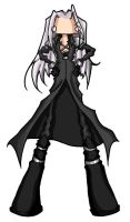 Chibidump - Sephiroth by silverwinglie