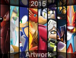 Artworks of 2015 by Dogwhitesector