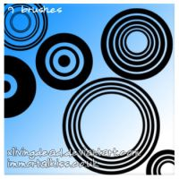 Circle Ps Brushes by xlivingdead