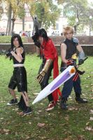 Final Fantasy VII - Battle by AerithStrife90