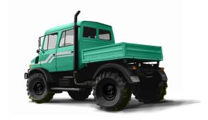 Offroad Truck Illustrations by Stealthtiger