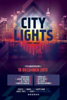 City Lights Flyer by styleWish