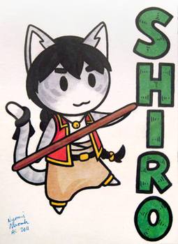 Ridicudorable Shiro Badge by MaryCapaldi