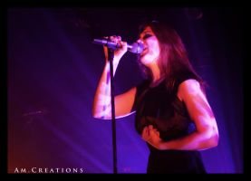 Simone Simons. Live Norway 21 by AmCreationss