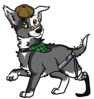 Unique Dog Adoptable for Points (CLOSED) by SierratheSharkDoge
