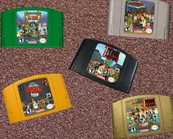Total Drama Video Games by corbinace