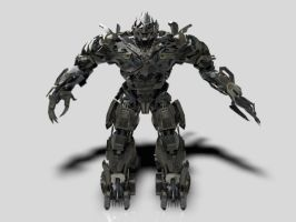 Megatron-Animation by PlaviDemon