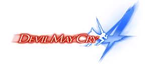 Devil May Cry 4 Logo (Transparent) by jin-05