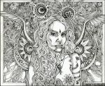 The High Priestess by lauraborealisis