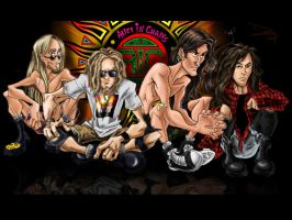 Alice In Chains kinda by Dani-Rattlehead