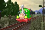 Railways of Crotoonia: Emma Promo by derpadederp1999