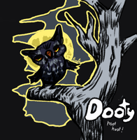 Dooty in the moonlight by MyelinSheath