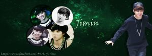 Jimin Facebook Cover by ParkYuri666