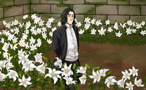 Lily Garden by Angel-soma