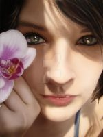 Orchid Digipainting by Photoshop-Wizard