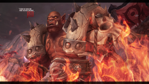 Wallpaper - Garrosh Hellscream. by POPULAIR3