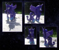 My Little Pony Luna Custom by kaizerin