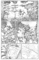 Drizzt page 7 Starless night by wici