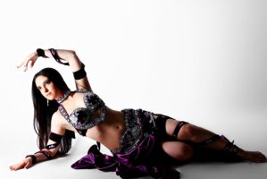 Purple Belly Dance Stock 05 by LoryenZeytin