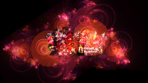 Rumble Fighter Wallpaper: iLife and Deadly by NiinjaStyle