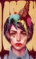 Sweet boy illustration by renaillusion