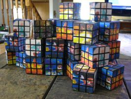 30 Super Mario Galaxy cubes by Kricket1385