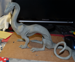 Dragon Sculpture wip by Isvoc