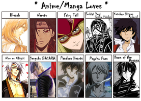 Anime and Manga Love by WarriorAngel36