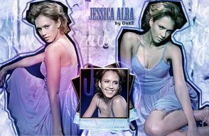 Blend with Jessica Alba by dazzlicious