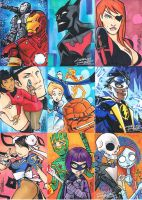 Sketch Cards From Beyond by KidNotorious