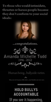RIP Amanda Todd (ALL TROLLS *WILL* BE REPORTED) by JOHNNEMO