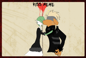 Filled Kiss Meme~ by painkrc99