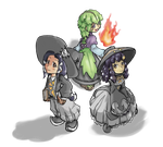 MC - Witch Trio by Minon