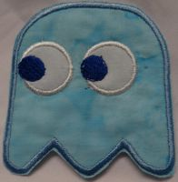 Inky Iron on Patch by quiltoni