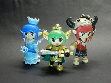 Triforce Heroes  by Snowifer