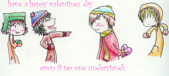 A Little SP Valentine Scene by petals-on-scarecrows