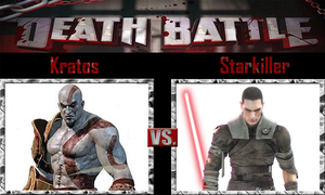 Kratos vs Starkiller by SonicPal