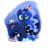 Princess Luna by iMarieU