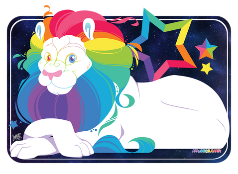 Afalon the CandyLion by raygirl