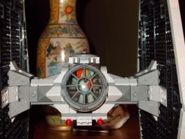 DASHIE IN A LEGO TIE FIGHTER by TMNTFAN85