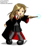 Hermione Chibi by Yamer by StarDragon77