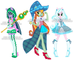 EquestriaGirls Witch/MahouShoujo Adoptables by Sakuyamon
