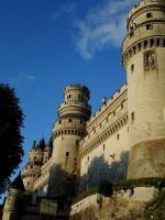 Pierrefonds Castle - Camelot by MorgainePendragon