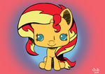 Sunset Shimmer (Funko POP! Style) by DoppiaD-DoubleD