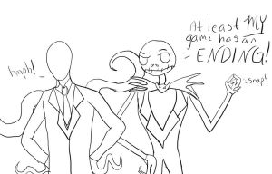 Jack and Slender Man Comic by Spiegeln