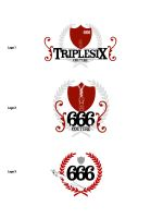 Triple Six Logo Competition 5 by frozen-sky