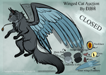 Winged cat auction2 -CLOSED- by DJ88